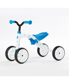CHILAFISH - QUADIE Беговел синий, 4 прорез. колеса, груз. до 25 кг  CPQD01BLU, 5425029650305