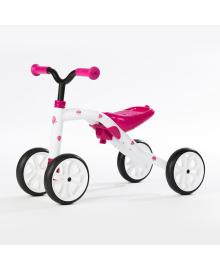 CHILAFISH - QUADIE Беговел розовый. 4 прорез. колеса, груз. до 25 кг  CPQD01PIN, 5425029650329