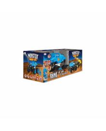 Автомобиль CRASH CAR на р/у -  НОСОРОГ (синий, аккум. 4.8V) WILTON BRADLEY MONSTER SMASH-UPS TY5873C-1, 6900006487451
