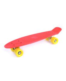 GO TRAVEL Детская доска для катания красная, желто-горячие колеса 56 см LS-P2206RYS