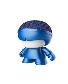 "Акуст. система XOOPAR серии ""Металлик"" - Mini XBOY (7,5 cm,син.,Bluetooth,USB-каб,подсв., ремешк.) XBOY81001.16М, 4897032089495"