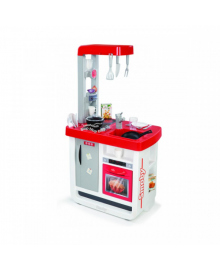 SMOBY TOYS Интерактивная кухня Bon Appetit Red со звук. эффектом, аксес., 52х34х97 см, 3  310800, 3032163108009