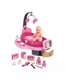 SMOBY Игровой центр Baby Nurse для ухода за куклой с пупсом, аксес., 3+ 220317