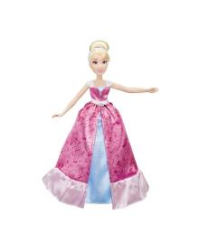 HASBRO Модна лялька Попелюшка в розкішному платті-трансформері C0544 Disney Princess C0544EU4, 5010993357550