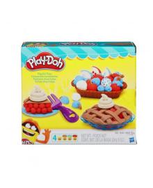 HASBRO PLAYDOH Игровой набор Ягодные тарталетки  Play Doh B3398EU4/EU6, 5010993336531