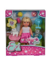 SIMBA Кукольный набор Эви Домашние животные с аксес., 3+ с18.05 по 15,06.18