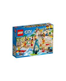 Конструктор LEGO CITY компания-развлечения на пляже  60153