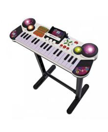 SIMBA TOYS Музыкальный инструмент Клавишные-парта с разъемом для МР3-плеера, 31 клавиша, 67 см, 6