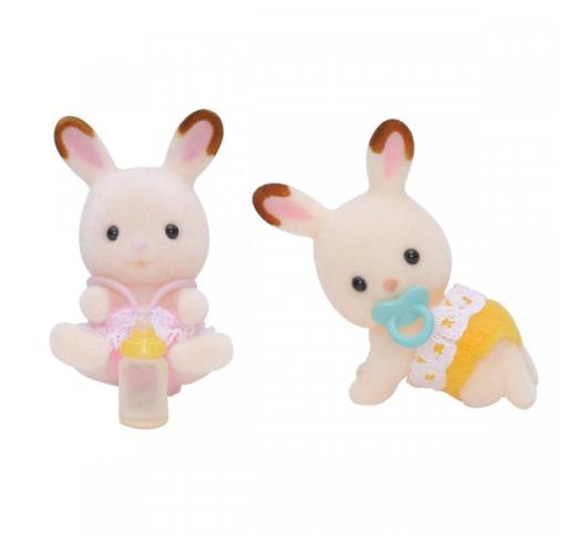 SYLVANIAN Набор Шоколадные Кролики-двойняшки арт. 3217