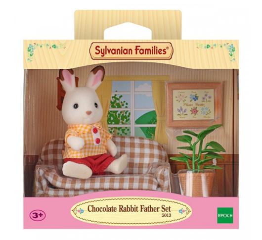 SYLVANIAN Набор Отец Шоколадного Кролика на диване арт. 2201  Sylvanian Families 5013, 5054131050132