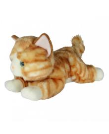 AURORA Мягкая игрушка Котенок рыжий 25 см