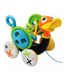 YOOKIDOO Игрушка-каталка Музыкальная утка 25292, 7290107721295