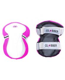GLOBBER Комплект защитный подростковый детский, розовый (для ребенка 25-50кг (XS) 541-110, 4897070180253