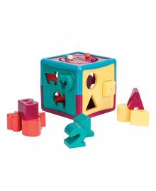 Развивающая игрушка сортер Battat Умный Куб (BT2577Z)