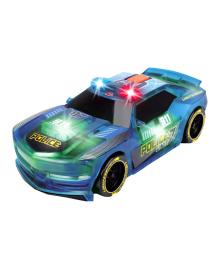 DICKIE TOYS Скоростной автомобиль «Вспышки света. Полиция »с изменением цвета, звук. и свет. эффектами, 20 см, 3