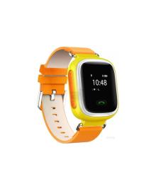 Детские телефон-часы с GPS трекером GOGPS ME K10 Желтые GoGPSme K10YL
