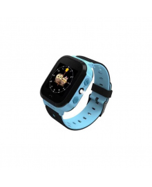 Детские телефон-часы с GPS трекером GOGPS ME K12 Синие GoGPSme K12BL
