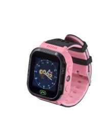 Детские телефон-часы с GPS трекером GOGPS ME K12 Розовые GoGPSme K12PK