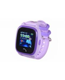 Детские телефон-часы с GPS трекером GOGPS ME K25 Пурпурные GoGPSme K25PR, 4820200190358
