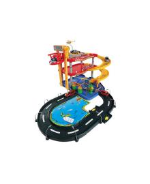Игровой набор - ГАРАЖ (3 уровня, 2 машинки 1:43) Bburago 18-30025, 4893993300259