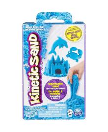 Песок для детского творчества - KINETIC SAND NEON (голубой, 227г) 71423B, 7300006491394