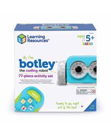 Игровой STEM-набор LEARNING RESOURCES – РОБОТ BOTLEY (программируемая игрушка-робот, пульт, аксесс.) LER2935, 6900006496279