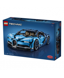 Конструктор LEGO TECHNIC Автомобиль Bugatti Chiron 42083, 5702016116977