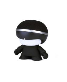 Акуст. система XOOPAR - Mini XBOY(7,5 cm, чёрная, c Bluetooth, зарядн.USB-каб, LED-подсв., ремешк.) XBOY81001.21A