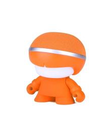 Акуст. система XOOPAR - Mini XBOY (7,5 cm, оранж., c Bluetooth, зарядн.USB-каб, LED-подсв., ремешк.)