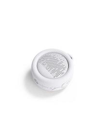 Влагозащищенная акуст. система XOOPAR – SPLASH POP (бел.,Bluetooth,SD-карта,USB-каб, карабин) XP81008.14A, 4897032087422