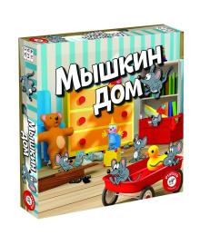 PIATNIK Настольная игра 'Мышкин дом';3+ 715297