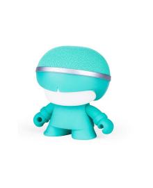 Акуст. система XOOPAR - Mini XBOY (7,5 cm, мятн., c Bluetooth, зарядн.USB-каб, LED-подсв., ремешк.)