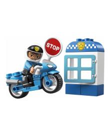 Конструктор Lego Duplo Полицейский Мотоцикл (10900)