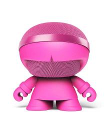 Акуст. стереосистема XOOPAR - XBOY GLOW(12cm,роз.,Bluetooth,MP3/SD-карт,микроф.,аудио&USB-каб.,LED) XBOY31007.24G, 4897032086548