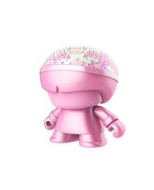 """Акуст. сист. XOOPAR серии """"Металлик""""Mini XBOY(7,5 cm,роз,с пайет,Bluetooth,заряд.USB-каб, LED-подс) XBOY81001.33LE, 4897032089532"""
