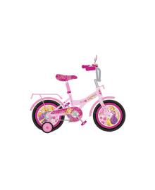 DISNEY Велосипед 2-х колес 16 PR191611 Рапунцель со звонком,зеркалом