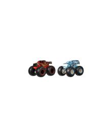 MATTEL HOT WHEELS Набор из 2 машинок-внедорожников серии Monster Trucks в асорт-те