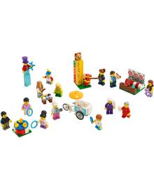 Конструктор Lego City Набор Фигурок: Веселая Ярмарка (60234)