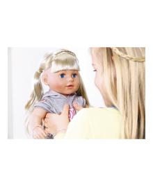 ZAPF кукла BABY BORN серии нежные объятия-СЕСТРИЧКА-модница (43 cm, с аксессуарами)
