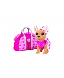 CCL Собачка Чихуахуа. Розовая. мода с сумочкой, 3+