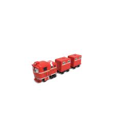 Robot Trains Паровозик с двумя вагонами Альф 80180, 6925783801801
