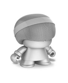 Акуст. стереосистема XOOPAR - GRAND XBOY (20 cm,серебр.,Bluetooth,микроф,аудио&USB-каб.,LED) XBOY31009.12R, 4897032084407