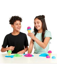 FOAM ALIVE Набор с воздушной пеной для детского творчества - МОРОЖЕНОЕ
