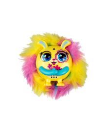 TINY FURRIES Интерактивная игрушка S2 - ПУХНАСТИК ФИАЛКА 83690-9, 6900006523814
