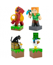 JINX Minecraft Колекционная фигурка  Adventure Figures Series 3 Retail Shared UPC Asso