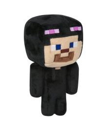 JINX Плюшевая игрушка Minecraft Happy Explorer Steve in Enderman Costume Plush Black/Purple