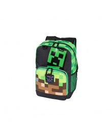 "JINX Рюкзак Minecraft 17"" Creepy Things Backpack-N/A-Green"