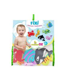 KINDERENOK Набор игрушек для купания на присосках Морские животные 170717