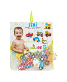 KINDERENOK Набор игрушек для купания на присосках Первый транспорт