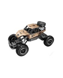 Автомобиль OFF-ROAD CRAWLER на р/у – ROCK SPORT (золотой, аккум. 3,6V, метал. корпус, 1:20) Sulong Toys SL-110AG, 6900006510548